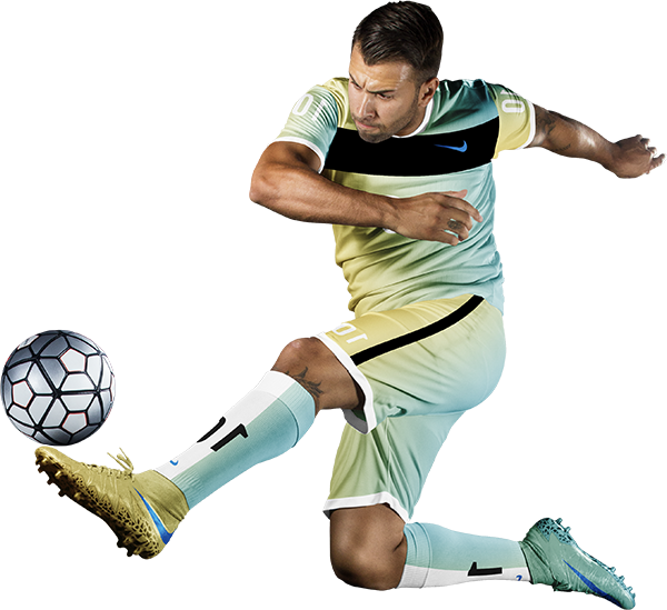 player kick